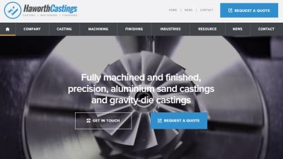 Haworth Castings Website