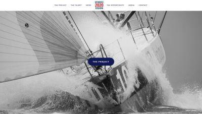 Vendee 2020 website
