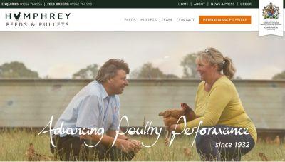 Humphrey Feeds & Pullets website