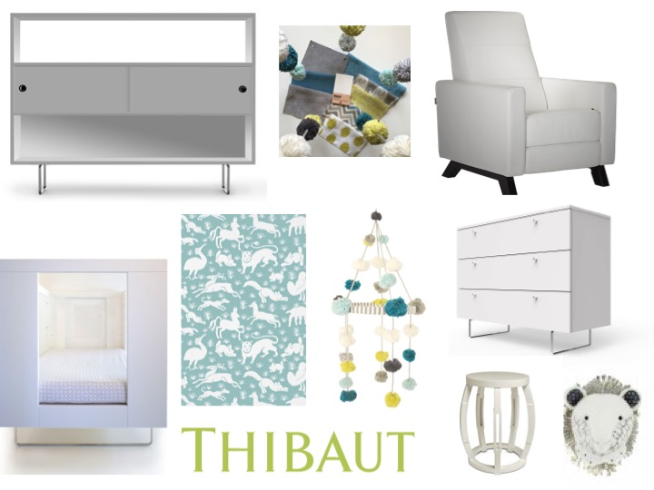 Everly & Monet Mood Board for the Unger family