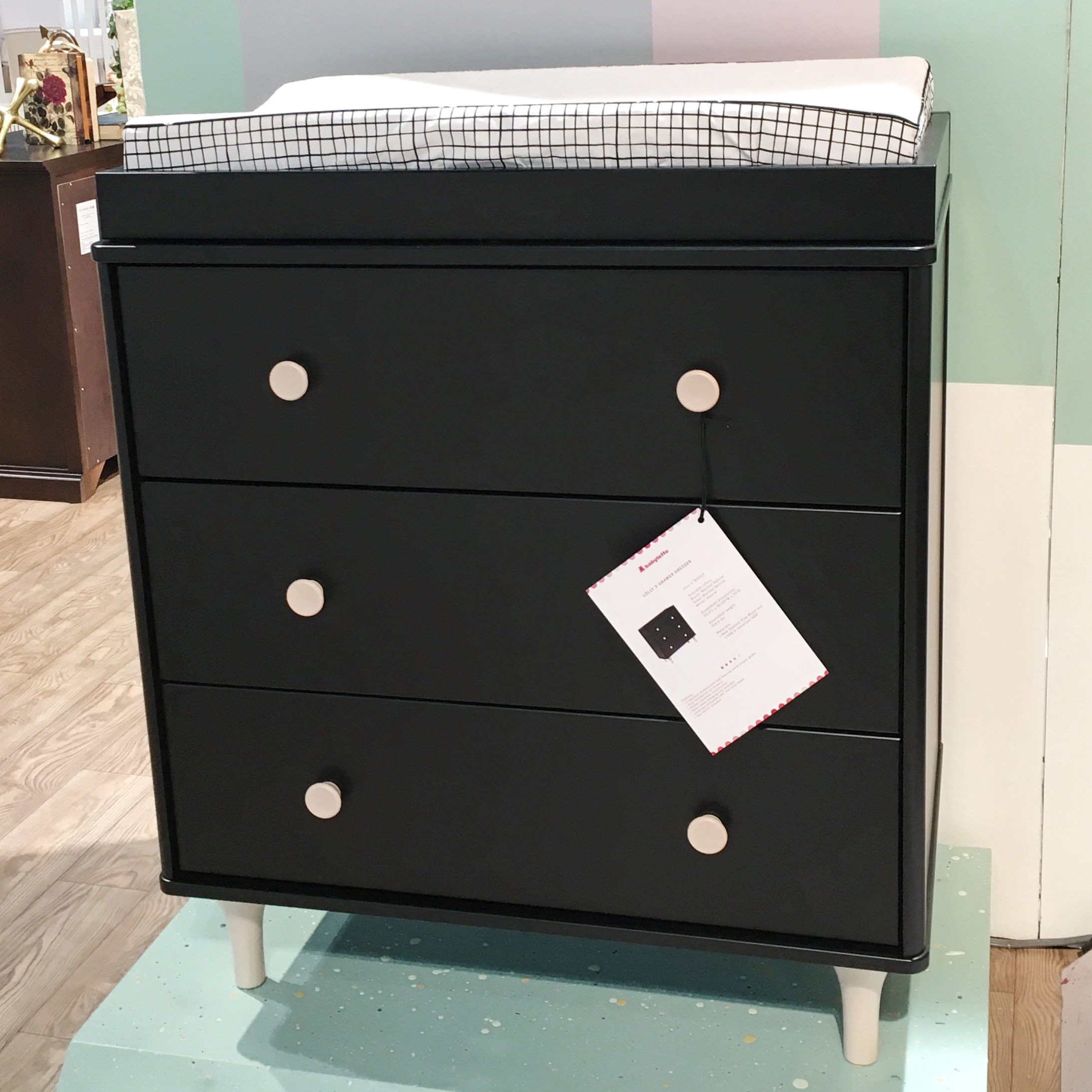 Lolly Dresser in Black