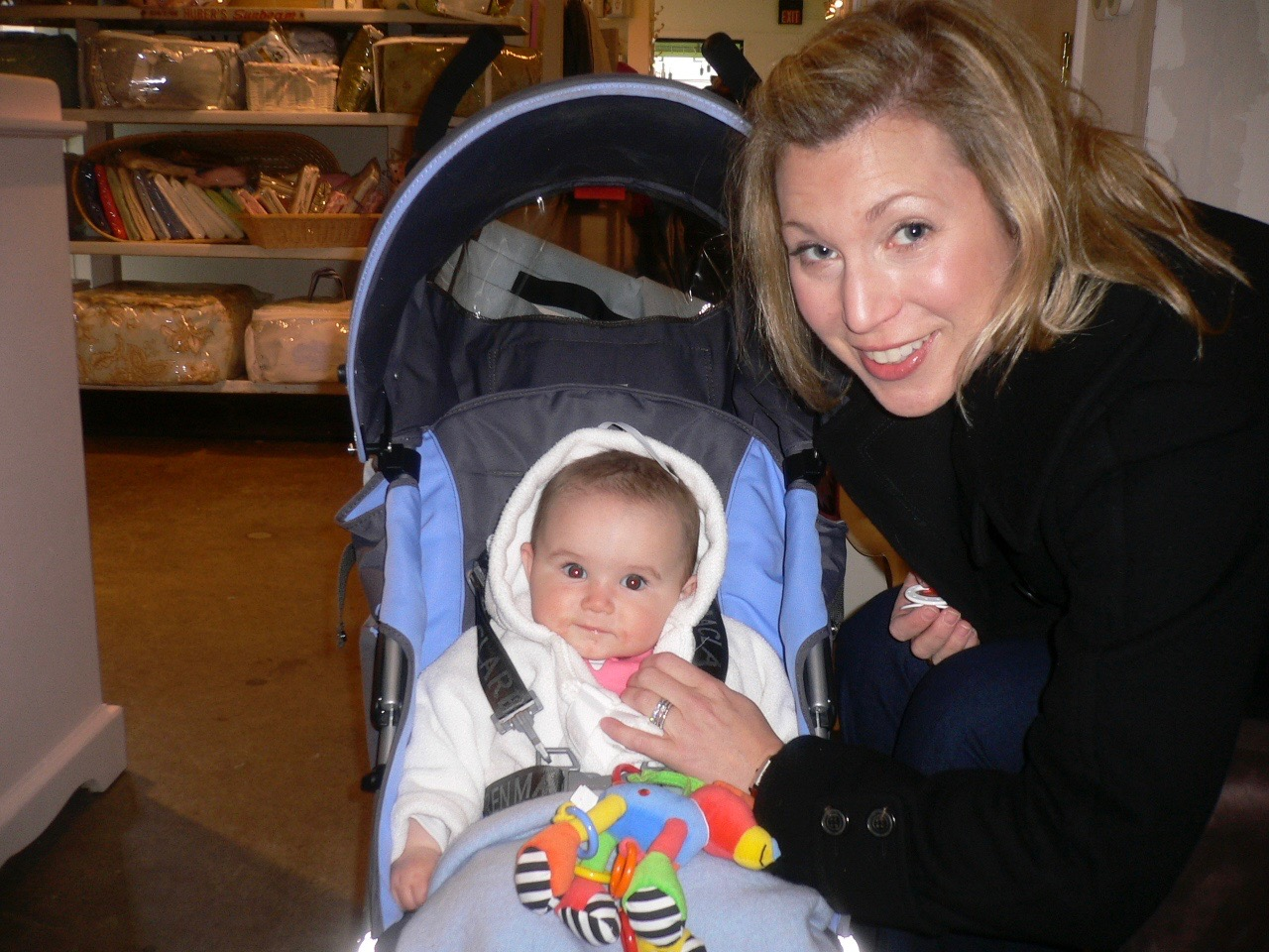 Julie & Baby