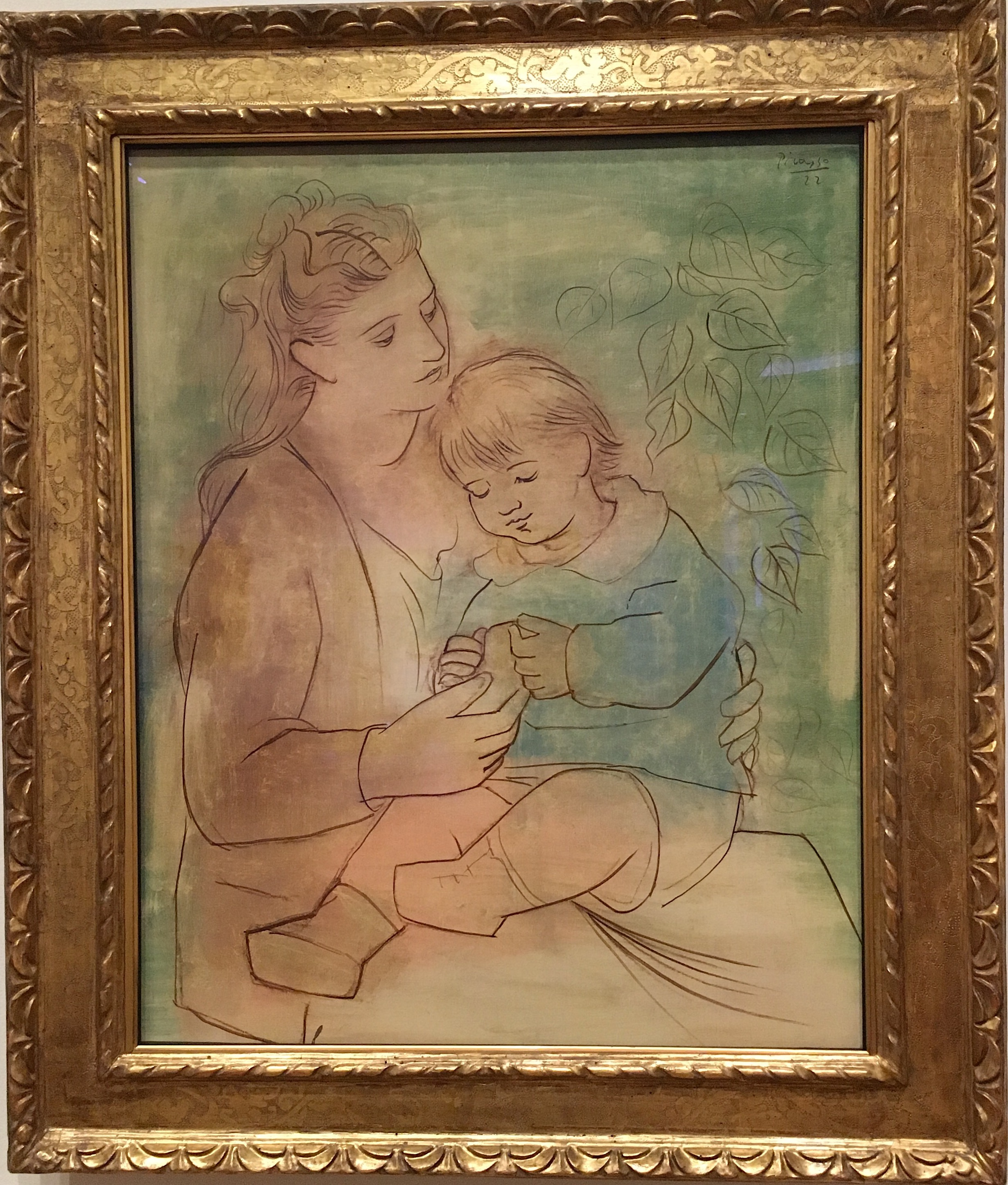 Picasso- Mother & Child