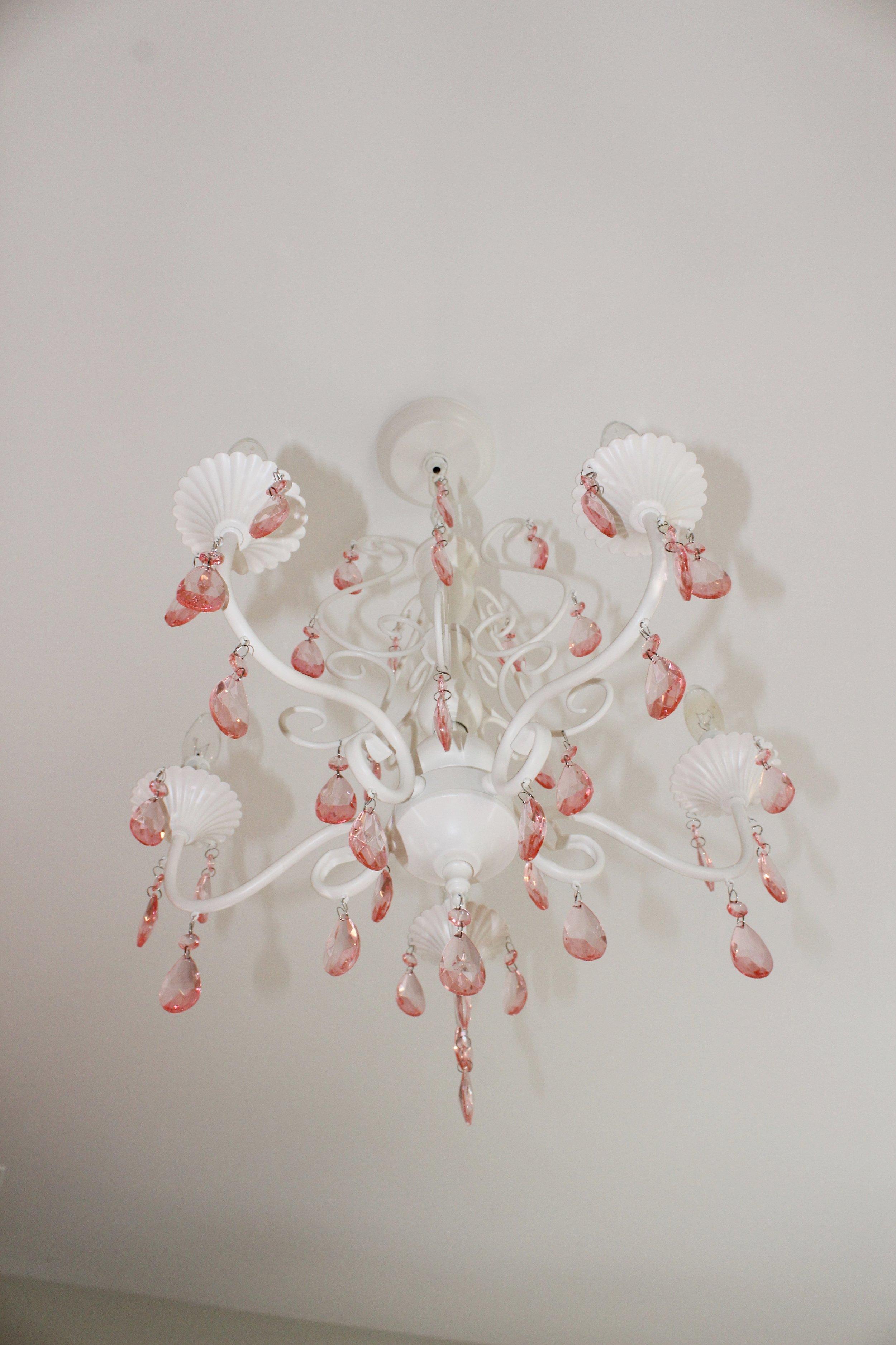 Pink Crystal Lighting
