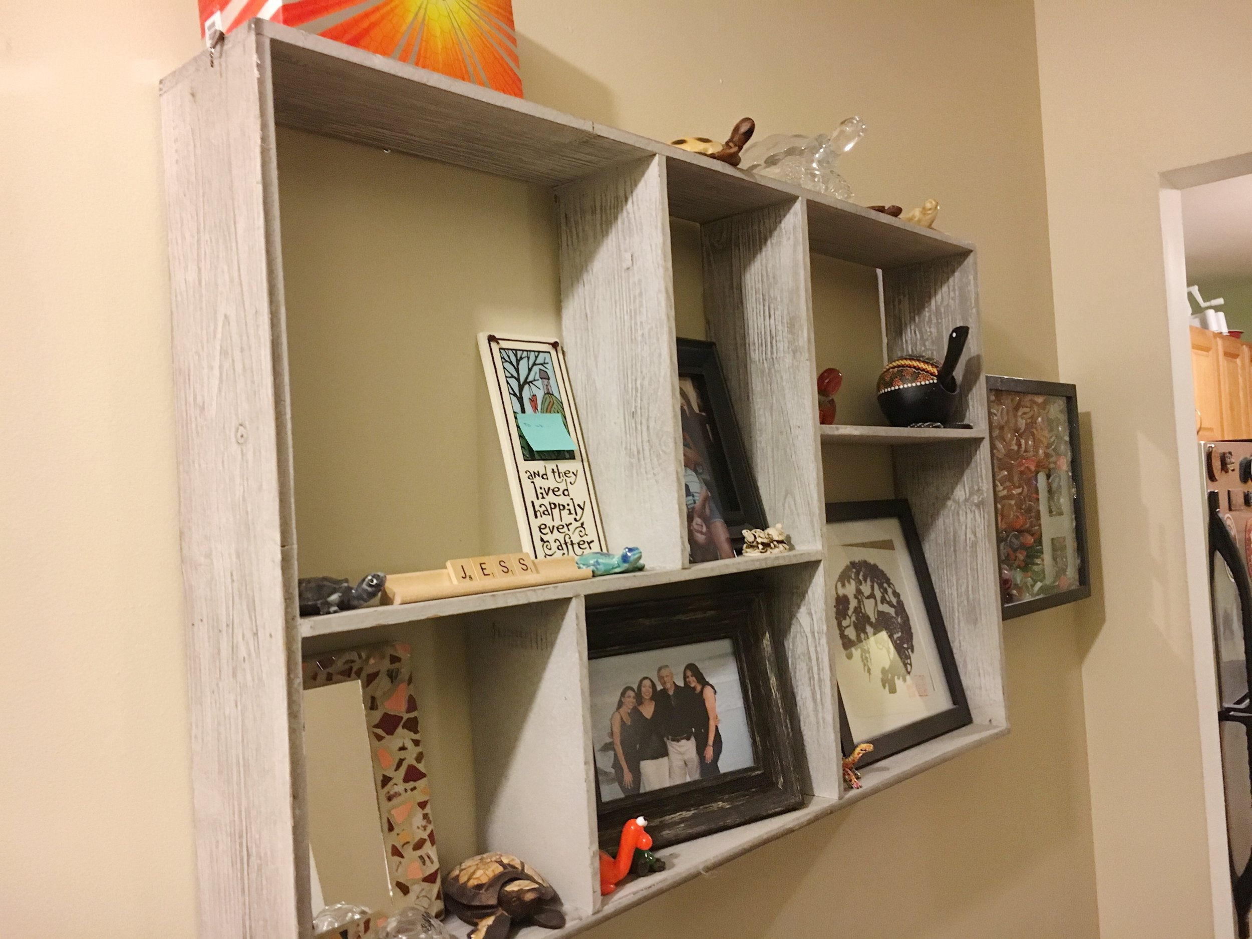 Before: Wall Shelf