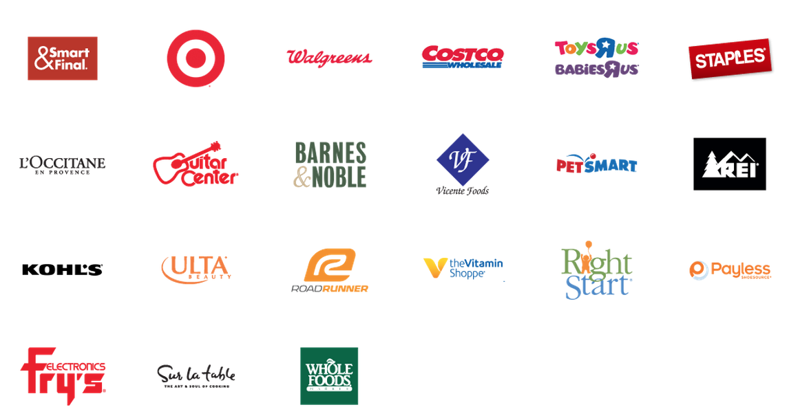 Google Express stores available to me in Los Angeles