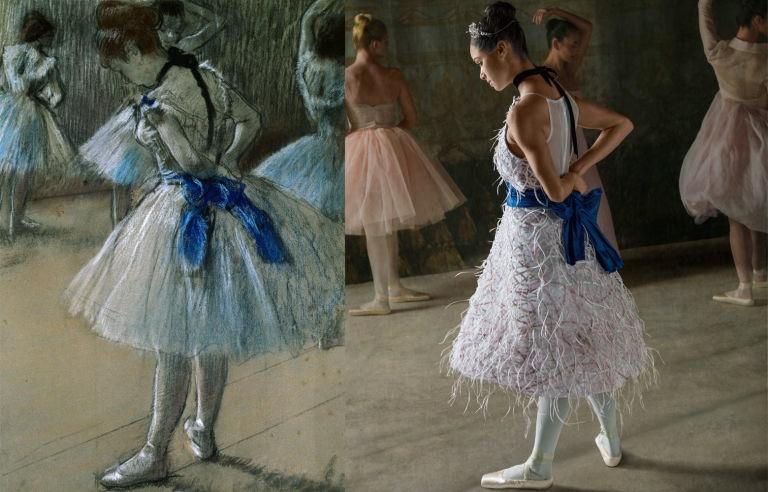 """Copeland as Degas'  """"  Dancer  ."""""""