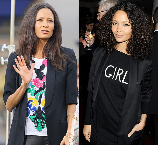 SWIRL HAIR CURLY VS STRAIGHT via Swirl Nation Blog