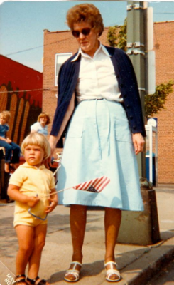 My Grandma Betty and I circa 1980:)