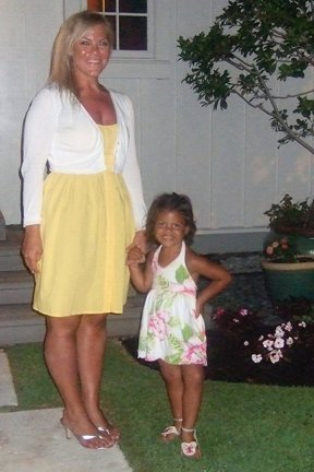 Kaia and I in Hawaii circa 2007