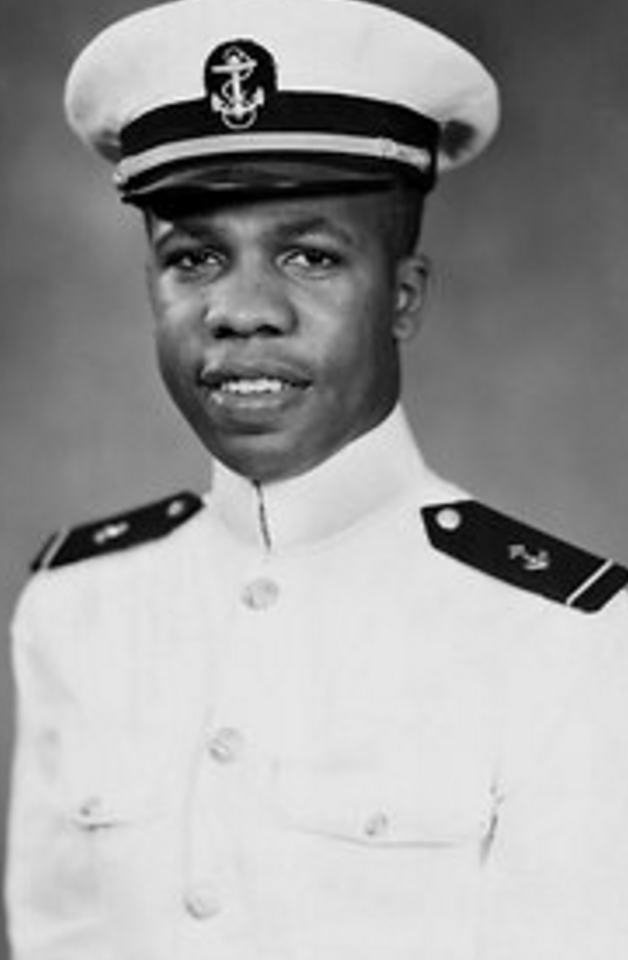 Grandad (dad's side) Wesley A.   Brown. First African American to   Graduate from the US Naval academy