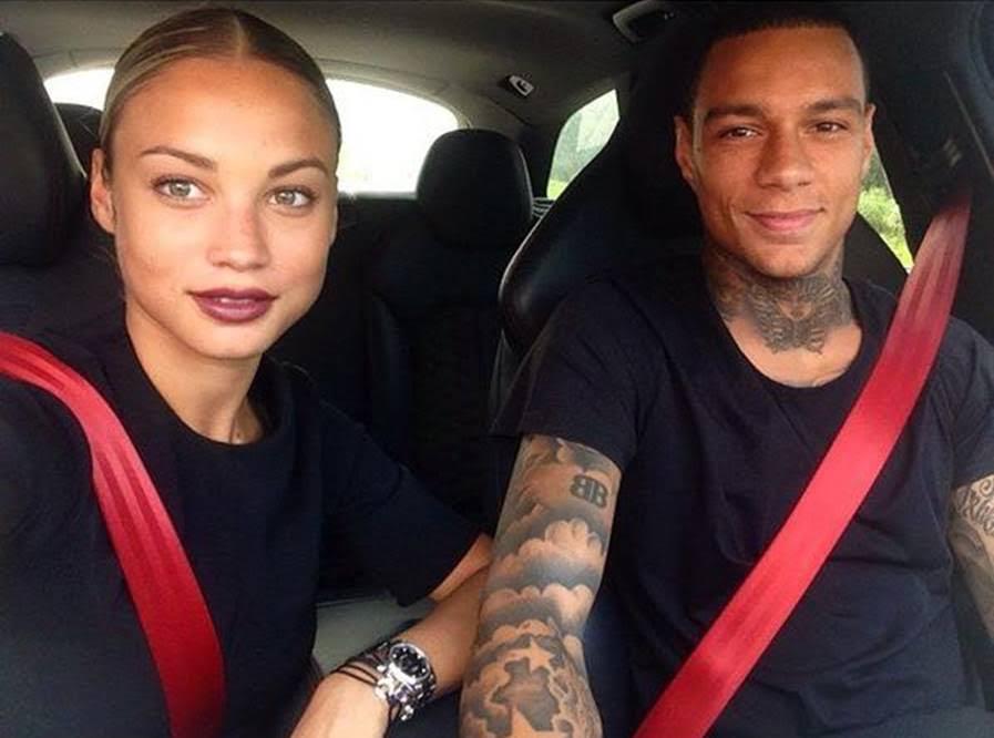 Rose and her boyfriend