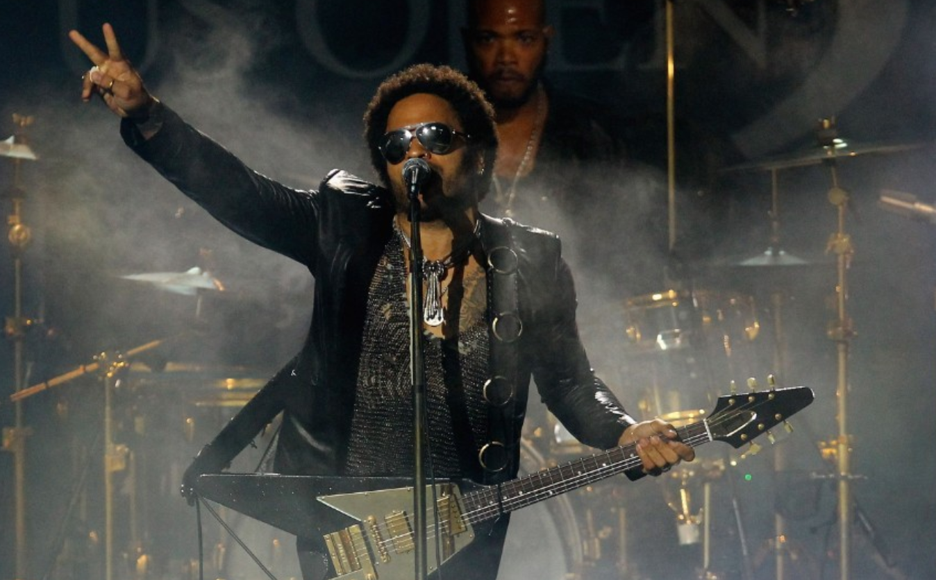 Lenny Kravitz. The singer has black mother and a white, Jewish father.