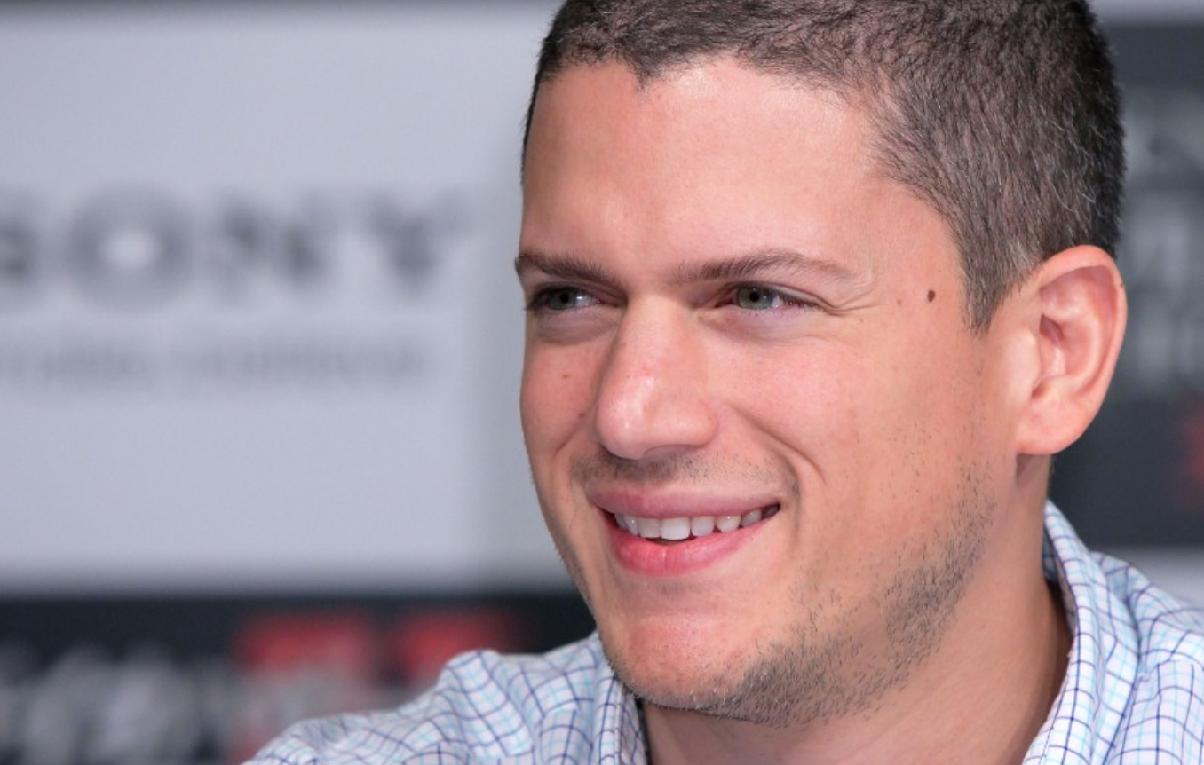 Wentworth Miller. The actor was born to a white mother and black father.