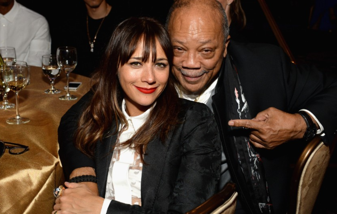 Rashida Jones. The actress was born to a white mother and black father.