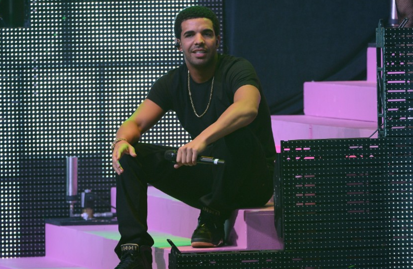 Drake. The rapper was born to a white, Jewish mother and a black father.