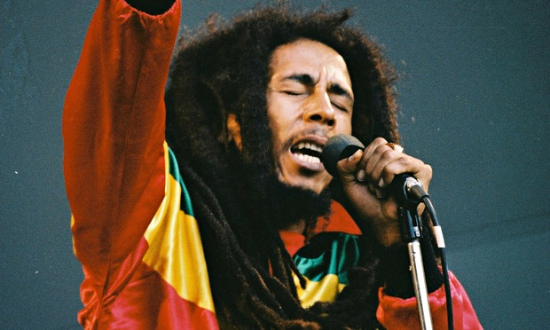 Bob Marley. The reggae legend was born to a black mother and white father.