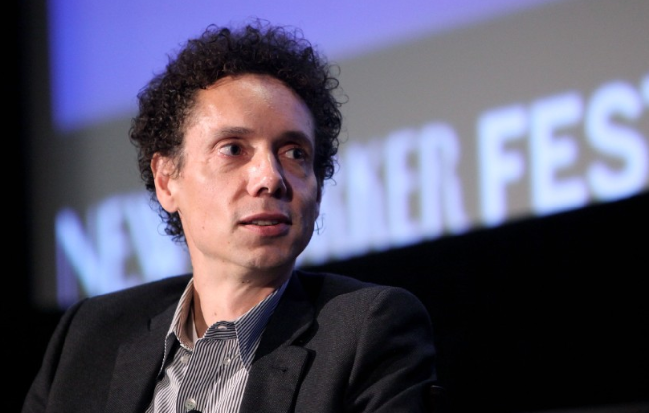 Malcolm Gladwell. The journalist was born to a Jamaican mother and white father.