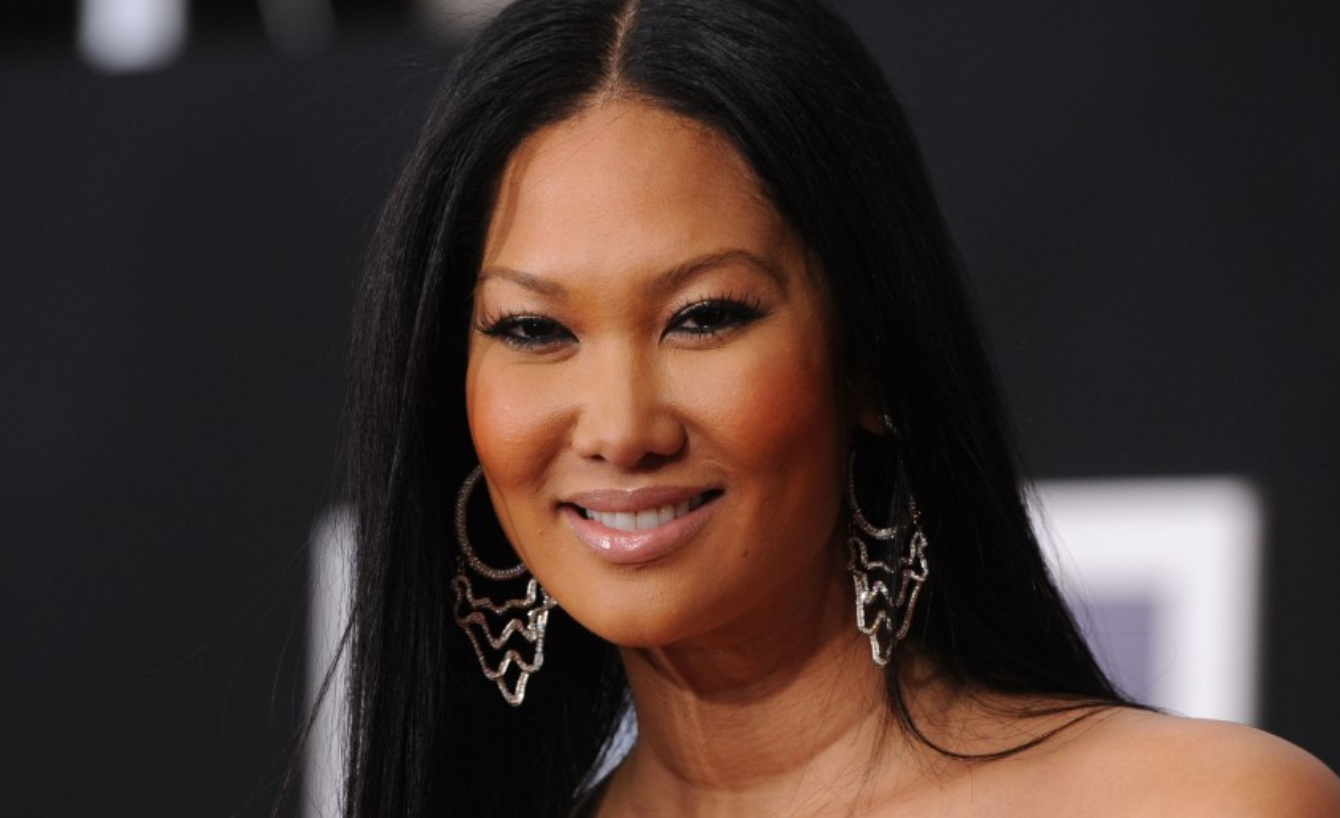 Kimora Lee Simmons. The former model and business woman was born to a Japanese mother and black father.