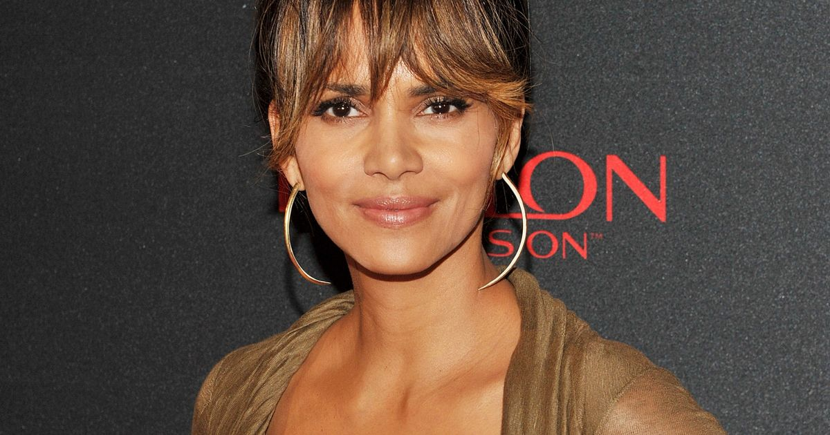 Halle Berry. The actress was born to a white mother and black father.