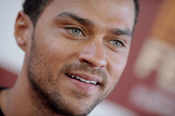 Jesse Williams. The actor was born to a white mother and black father.