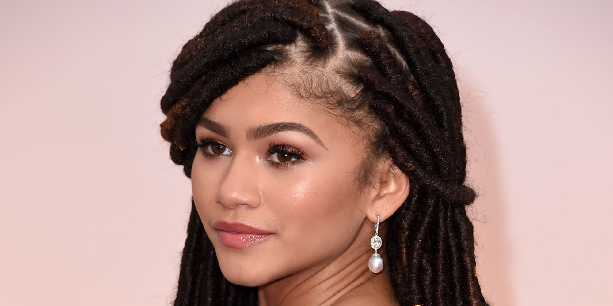 Zendaya. The actress was born to a black father and white mother.