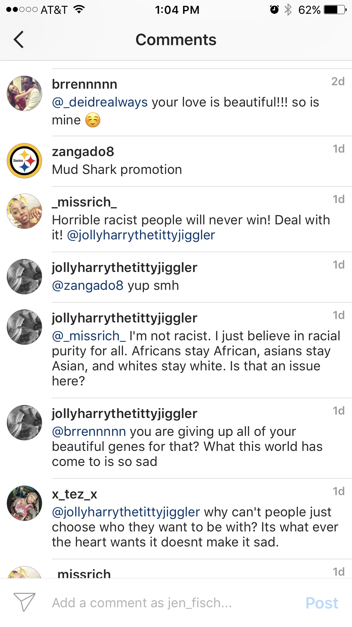 "WHEN ""THE HATE"" SLAPS YOU IN THE FACE INTERRACIAL COUPLE ON INSTAGRAM via Swirl Nation Blog"