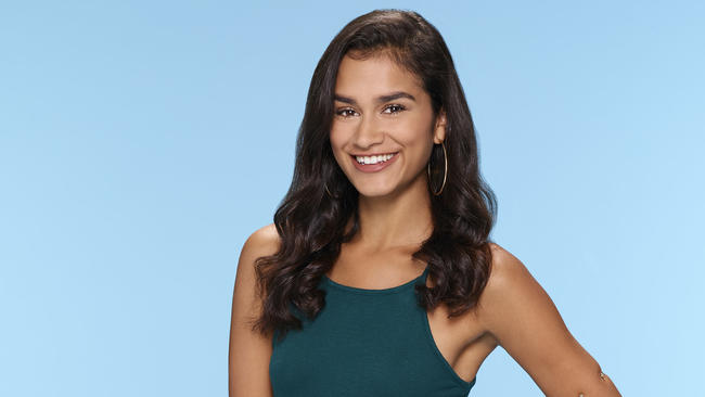 Taylor Nolan, biracial contestant on The Bachelor