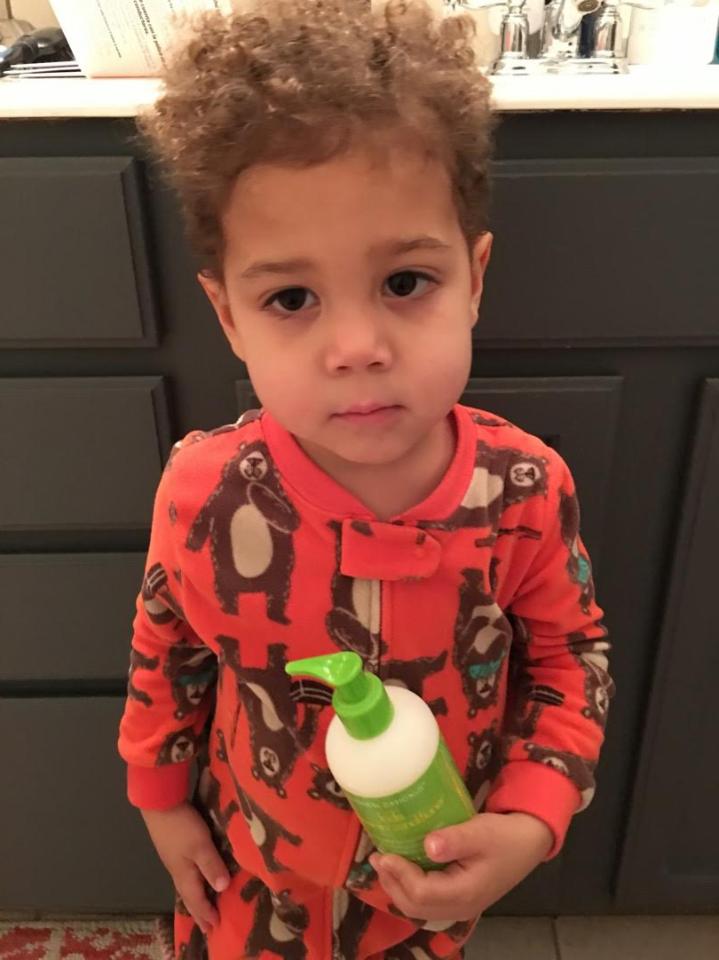 LIAM'S MIXED CHICKS HAIR PRODUCT REVIEW via Swirl Nation Blog