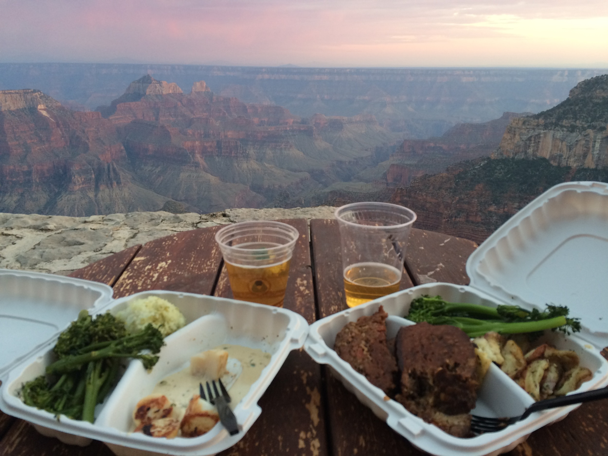 Dinner @ Grand Canyon