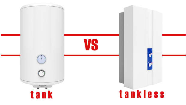 Tank vs Tankless Water Heaters @MeldrumDesign