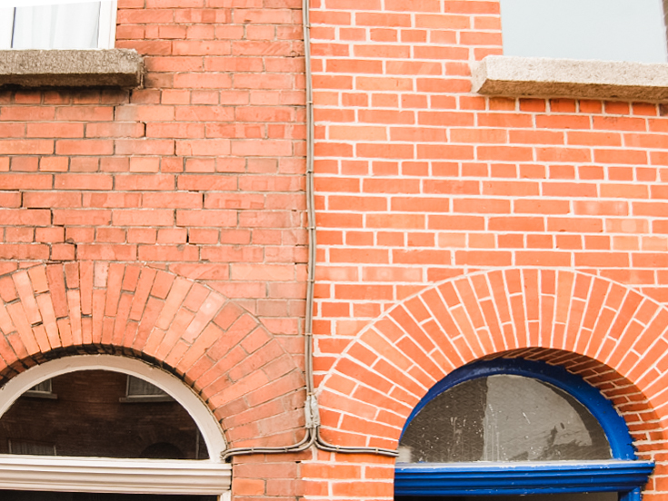 Archifact  #2  💡Repointing: filling in and/or repairing brickwork joints. Often necessary for structural stability on older brick buildings. 🧱 With the bright, new mortar, it also makes the brick look like new! Pc: Essex Brickwork and Repointing
