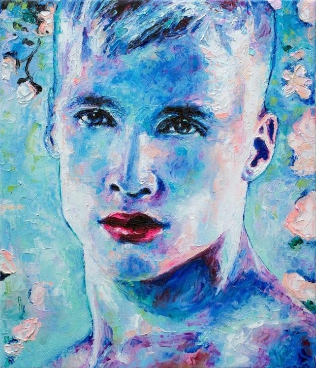 Blue Face  • Oleksandr Balbyshev