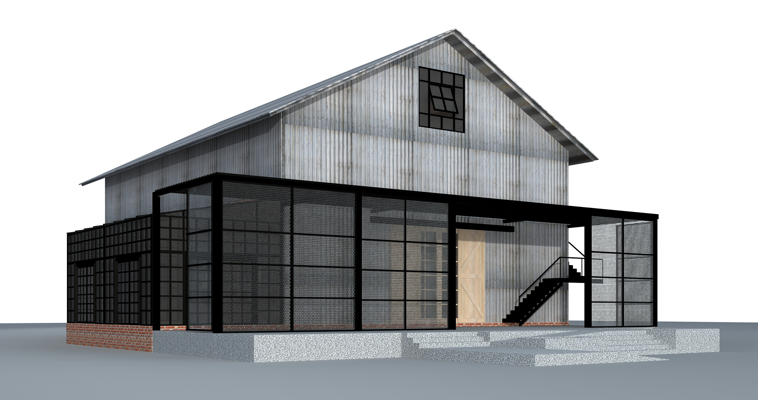 """Artist's Conception of """"The Barn"""" — coming in late 2019"""