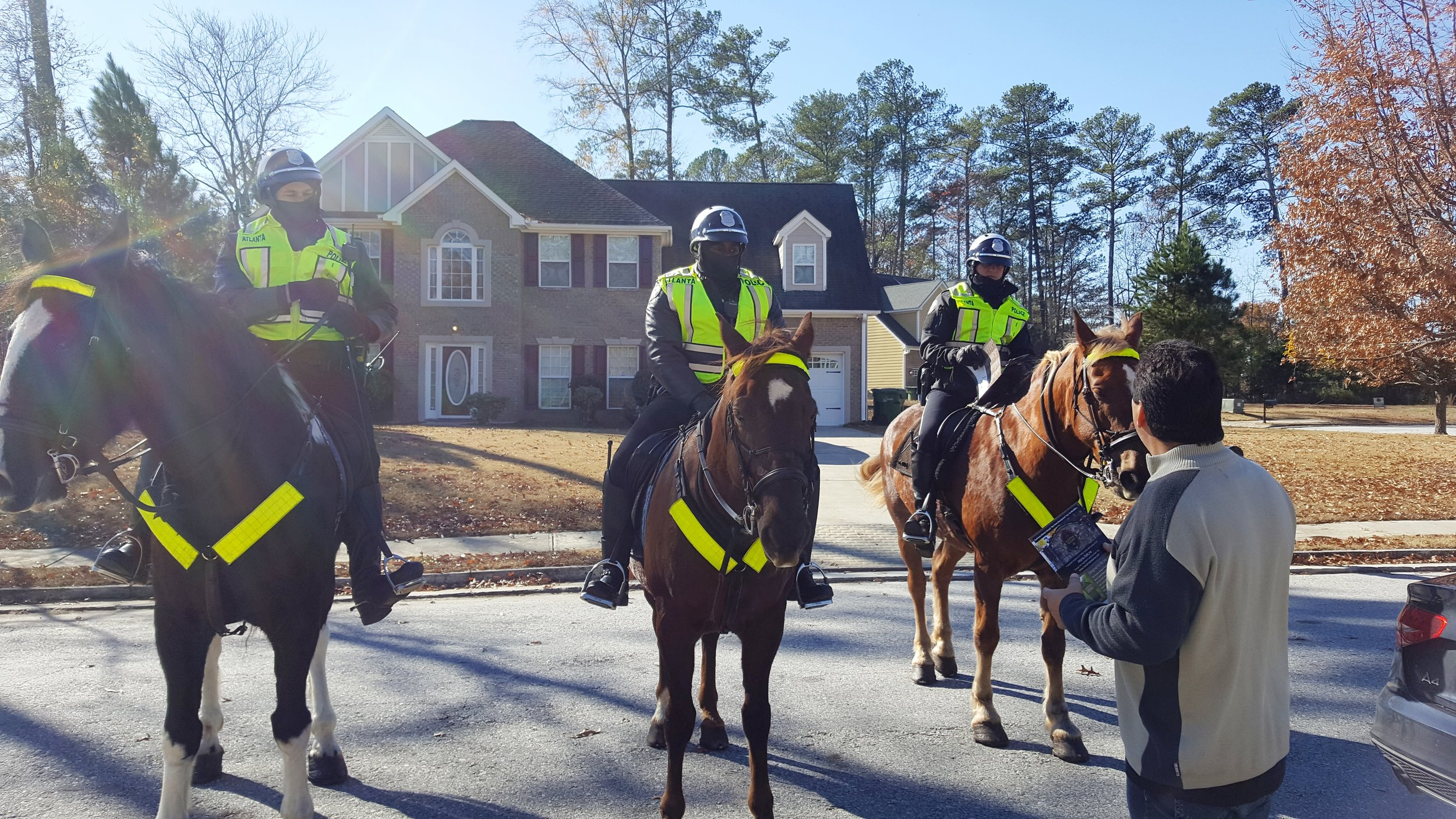 Atlanta Police Special Unit - protecting our homes...