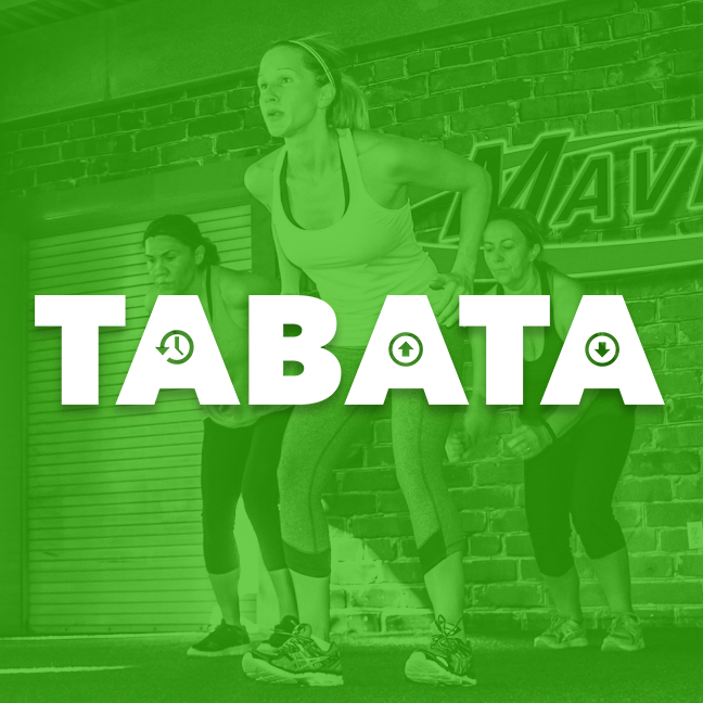 """A research proven type of high intensity interval training,  Tabata  """"builds strength and endurance in little time, thanks to repeated sessions of all-out effort broken up by short periods of rest, Boost your heart health, blast calories, and maximize your fat-loss potential in just four minutes intervals. Seriously! How? With  Tabata ."""
