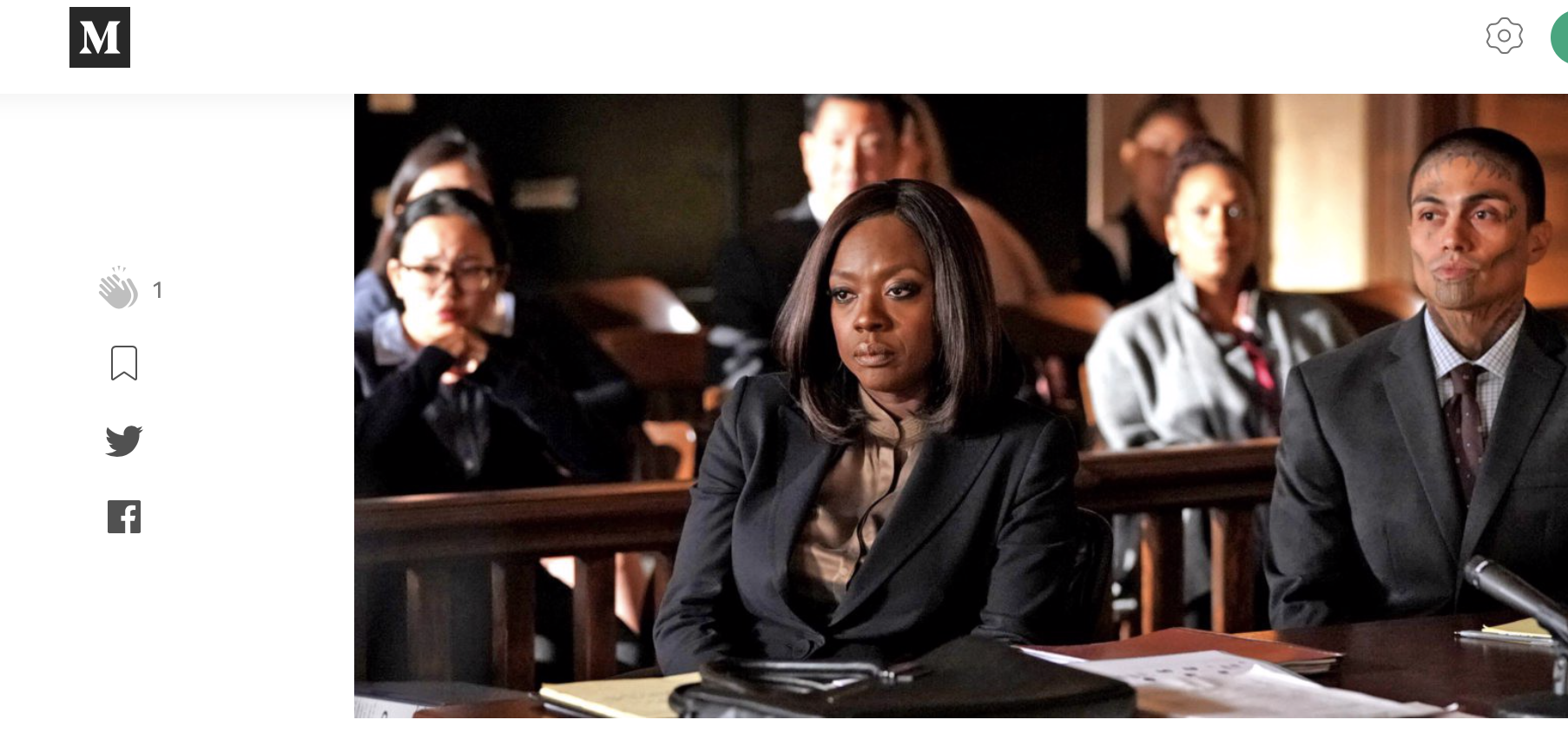 "MEDIUM | ""How To Get Away With Murder"" Reminds Us Why We Need to Do Better By Black Women - From storylines that address the lack of attention given to the mental health of Black women to the pressures that they face day in and day out in the office, HTGAWM has always been a good call to action for Black men (and people) to be better to and for Black women."