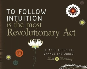 JOIN THE INTUITION REVOLUTION