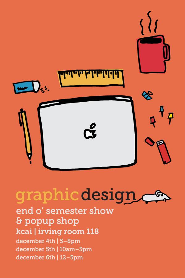Design & illustration by seniors Sam Yates & Larry Fulcher