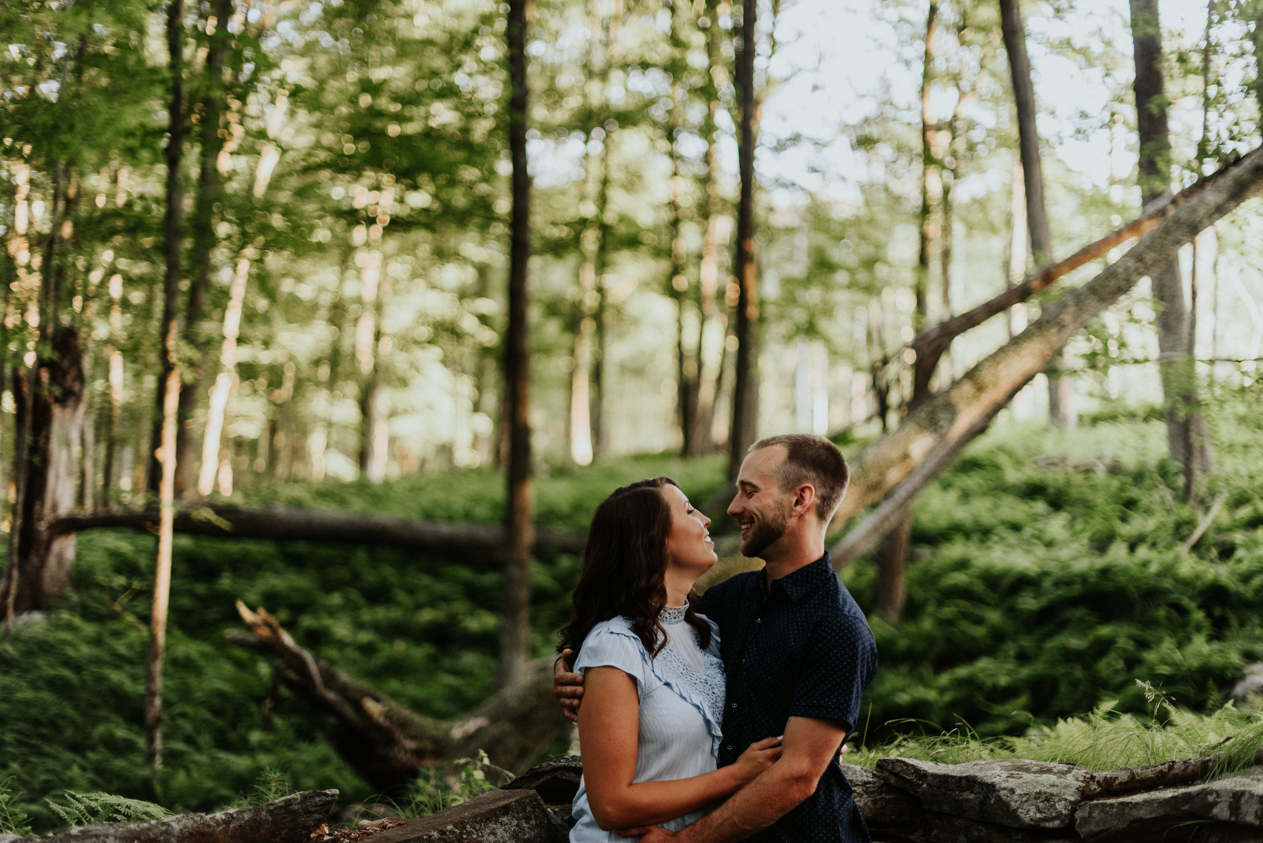 Amanda & Sean-Massachusetts-Forest Waterfront Engagement Session-Woodsy Outdoor Couples Session-Photographer-79.jpg