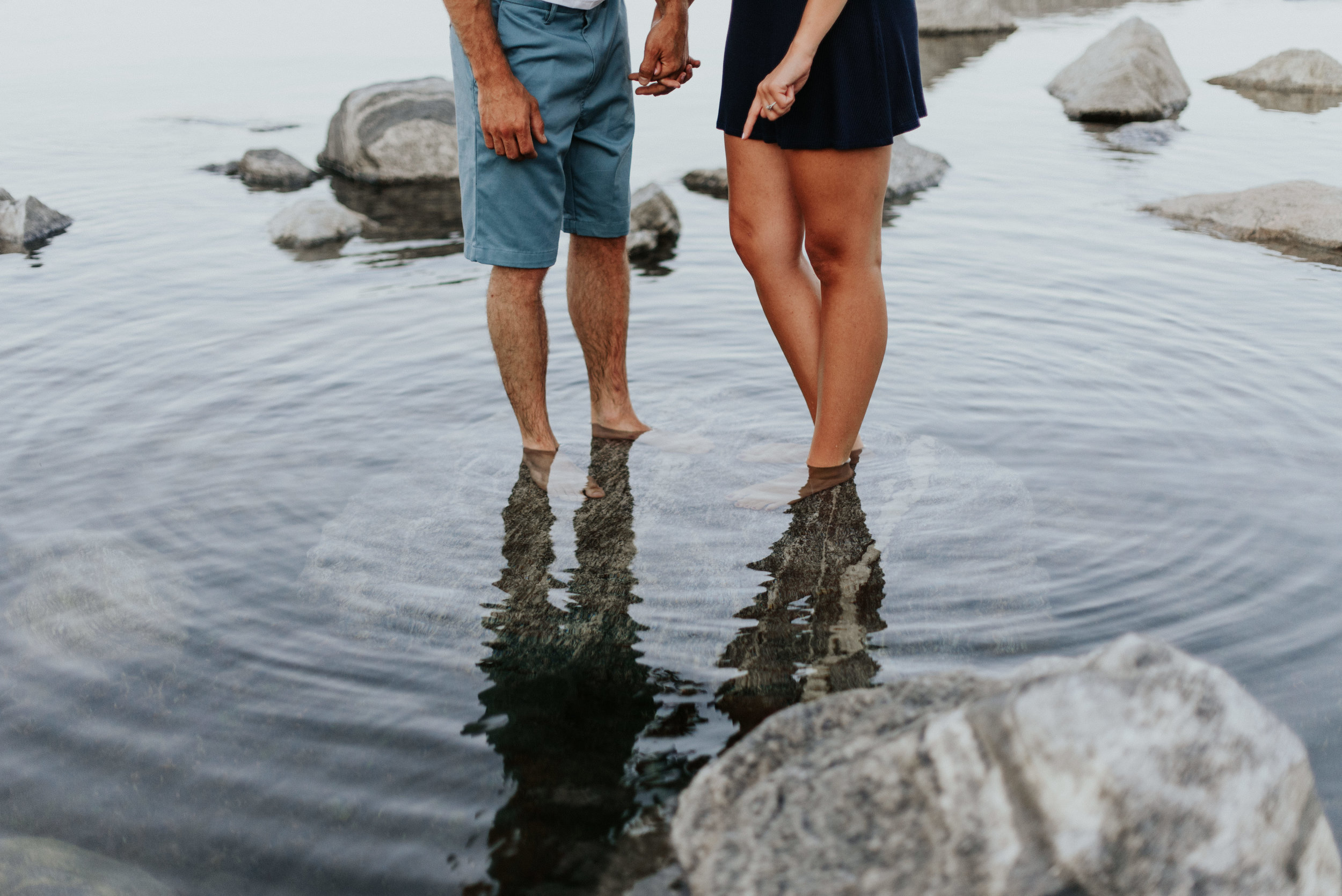 Amanda & Sean-Massachusetts-Forest Waterfront Engagement Session-Woodsy Outdoor Couples Session-Photographer-276.jpg