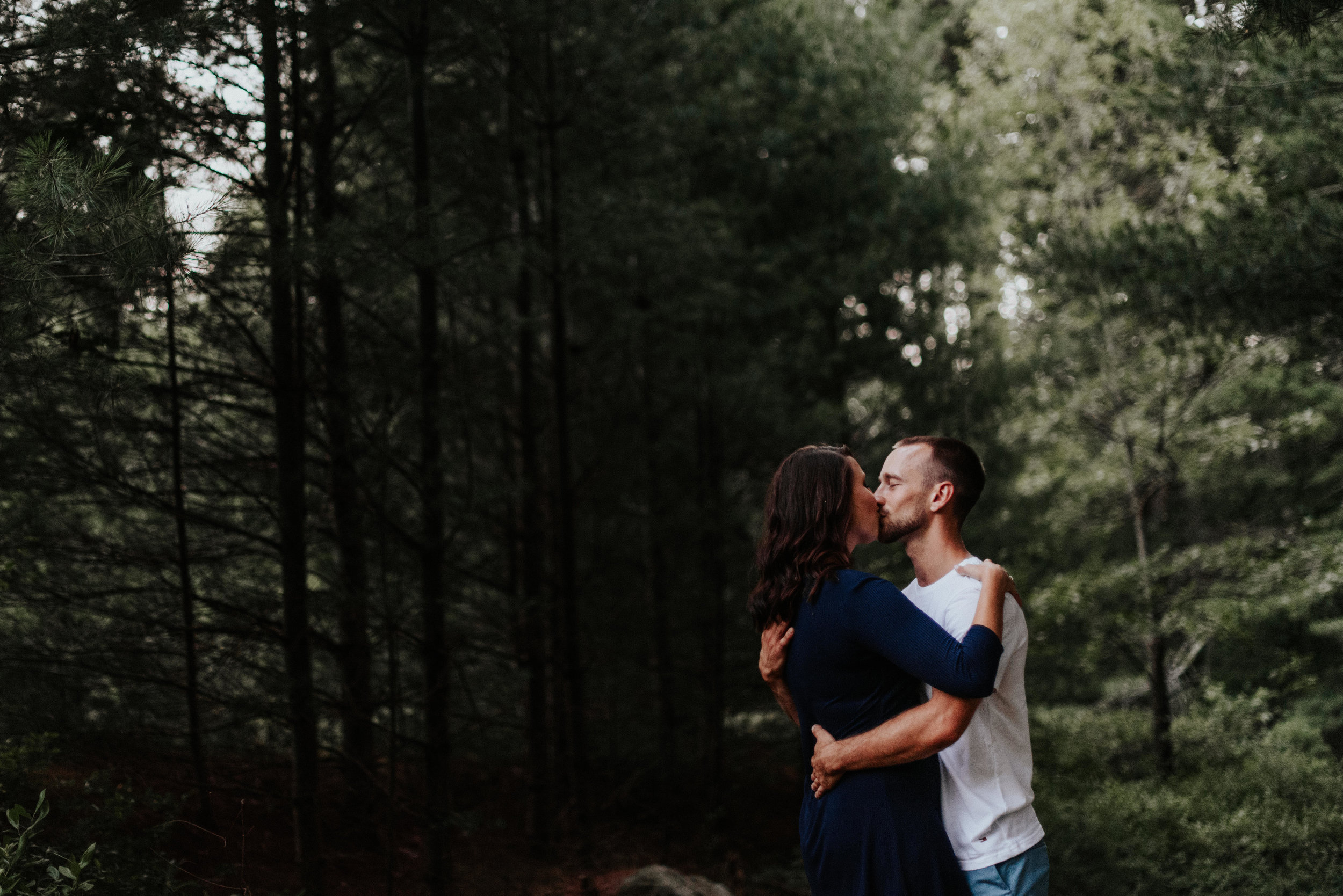 Amanda & Sean-Massachusetts-Forest Waterfront Engagement Session-Woodsy Outdoor Couples Session-Photographer-546.jpg