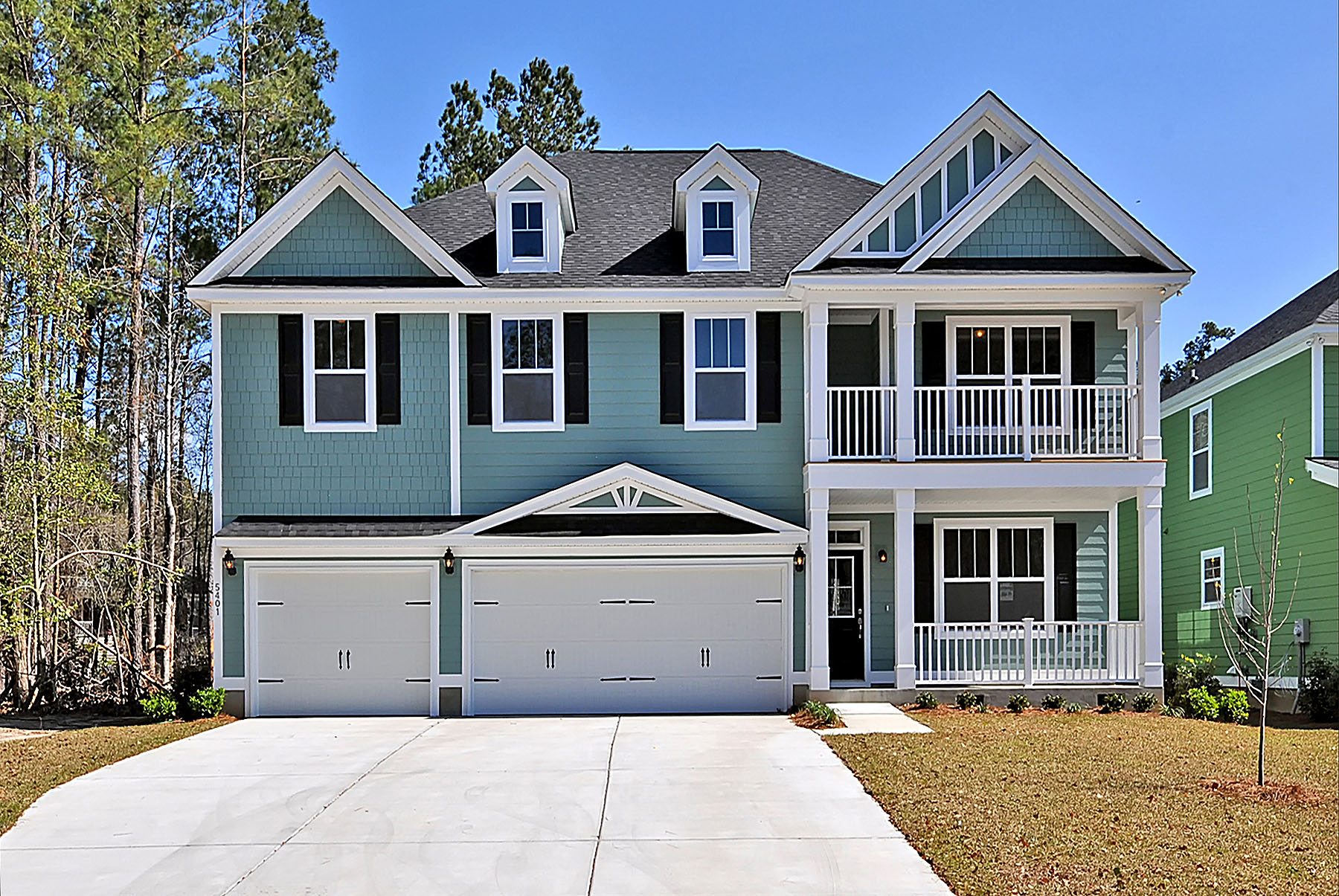 Plan Name or # The Litchfield   Bed: 4 or 5  Baths: 3.5  Sq.Ft.: 3,201  Garage: 3 Car Garage