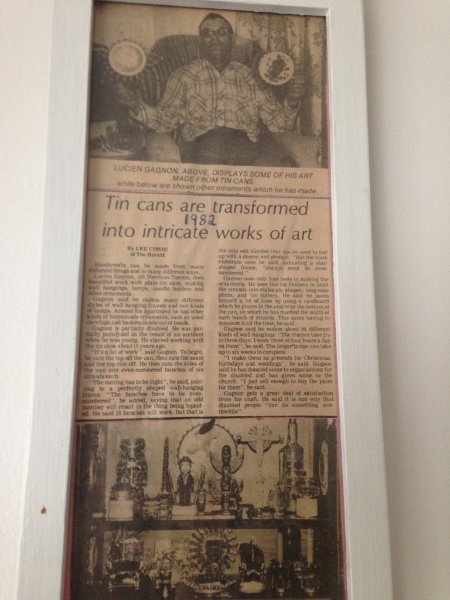 Un article publié dans le Prince Albert Daily Herald en 1982