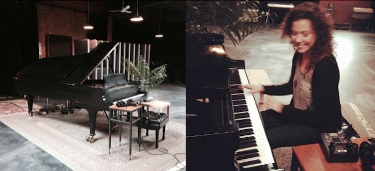 Une autre bête sexy chez les Studios Piccolo: un piano Steinway