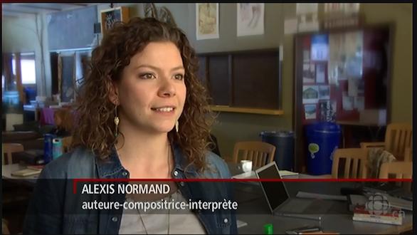 J'étais aux nouvelles! Entrevue avec Radio-Canada, Manitoba