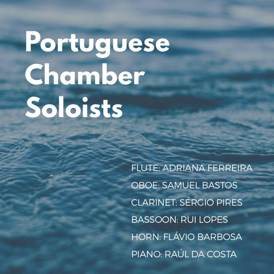 "Portuguese Chamber Soloists - Raúl da Costa is the newest member of the recently formed ensemble Portuguese Chamber Soloists, focusing in the chamber music works for piano and winds. The other members are Adriana Ferreira (Principal flute position at the Orchestra dell'Accademia Nazionale di Santa Cecilia, in Rome), Sérgio Pires (Solo Clarinetist in Musikkollegium Winterthur, Switzerland), Rui Lopes (""the best Portuguese Bassoonist of today."" - RTP), Samuel Bastos (Solo oboe in Zurich Opernhaus), and Flávio Barbosa (horn, President's Award from the European Union Youth Orchestra (EUYO) - Ian Stoutzker Chairman's Award)."