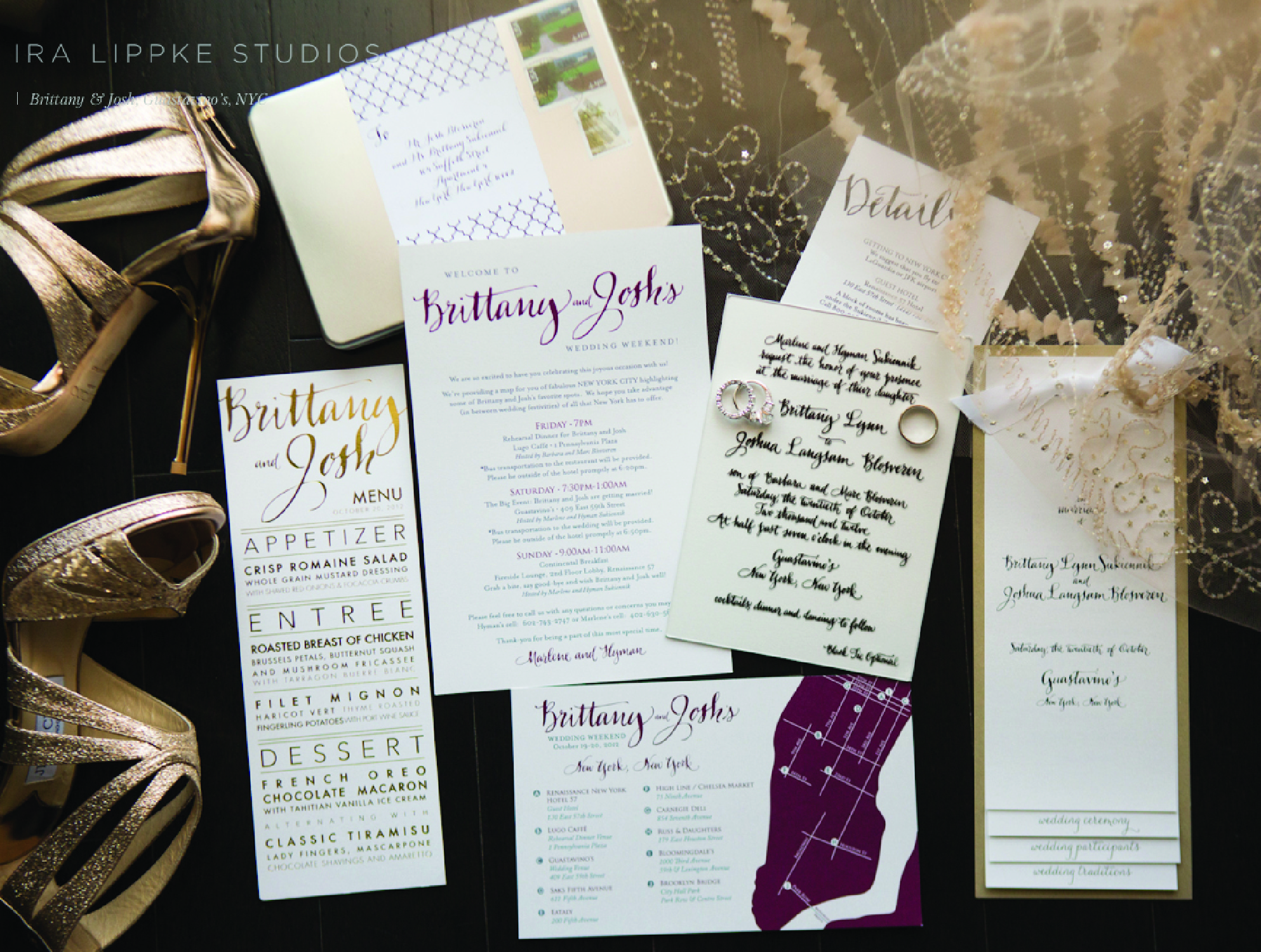 Custom Acrylic Wedding Invitations