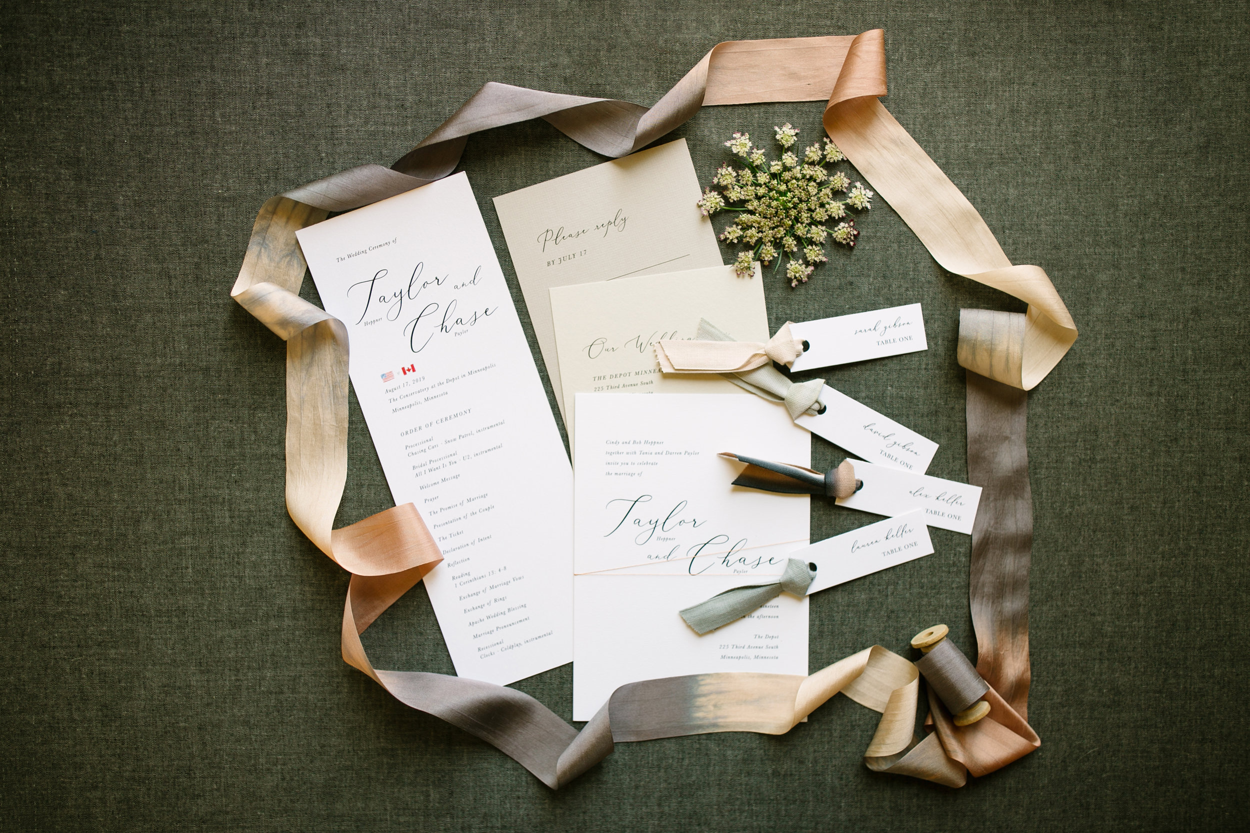Programs and Place Cards