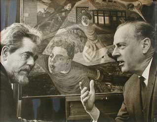 Harley Parker with Marshall McLuhan